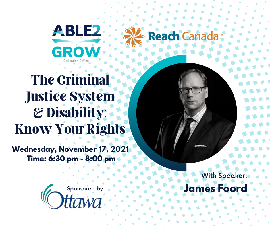 The Criminal Justice System & Disability: Know Your Rights